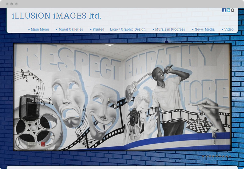 Redframe Photography Websites Client Example - Illusion Images